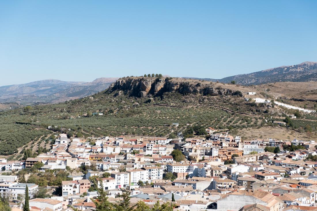 Forteresse de La Mota à Alcala-La-Real