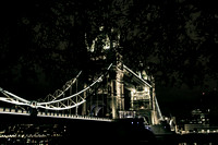 Tower Bridge de nuit