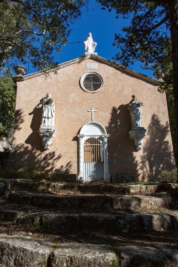 Chapelle Notre-Dame d'Inspiration à La Roquebrussanne
