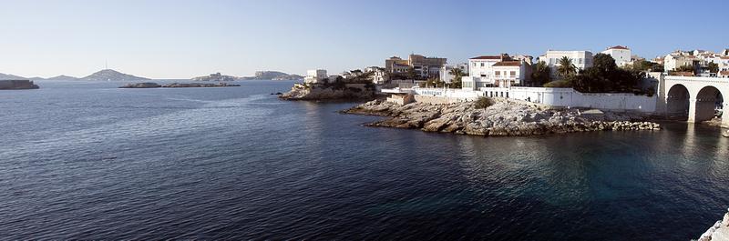 Panoramique de la Corrniche de Marseille