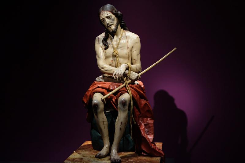 Les statues de l'Archevêché de Malaga