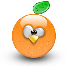 steph photo l 39 assurance orange pour votre mobile. Black Bedroom Furniture Sets. Home Design Ideas
