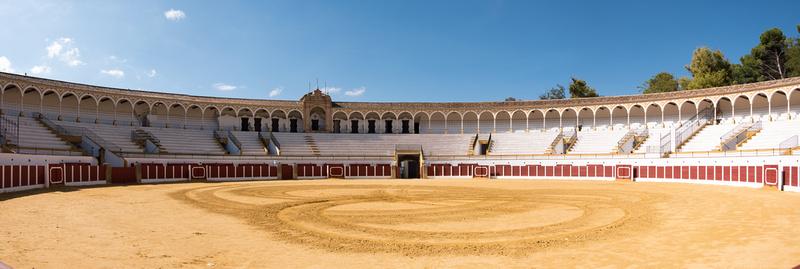 Dans les arènes d'Antequera