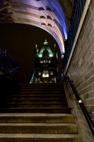 Les marches de Tower Bridge