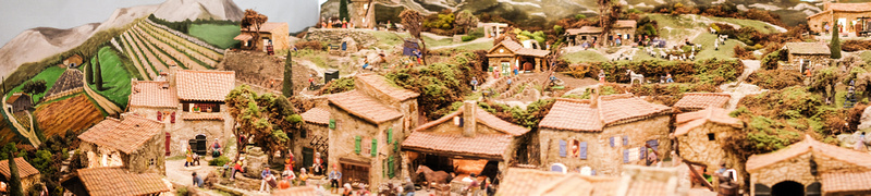 Crèches à Cotignac