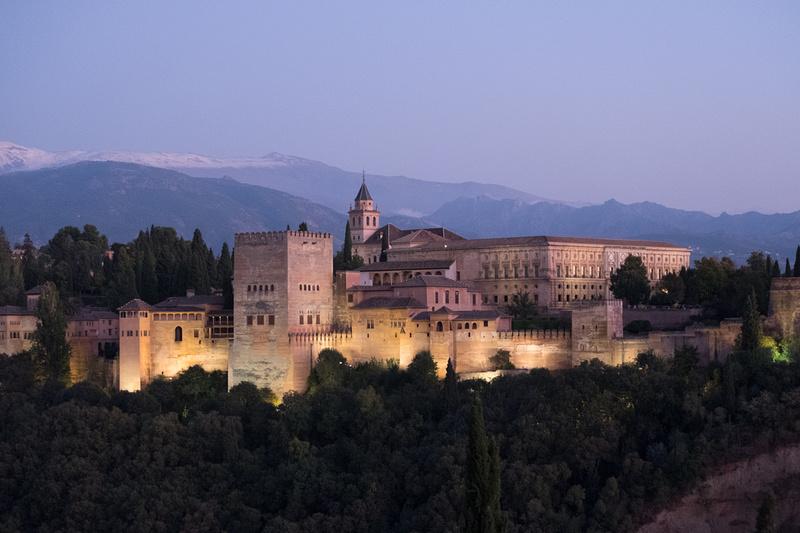 L'Alhambra depuis l'Albayzym