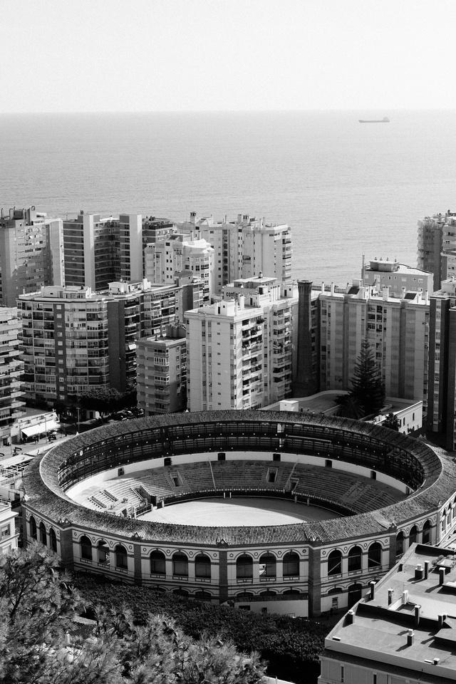 Le Gibralfaro à Malaga